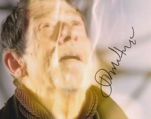 John Hurt - The War  Doctor, 10x 8 picture. This is an original autograph and not a copy. 10323